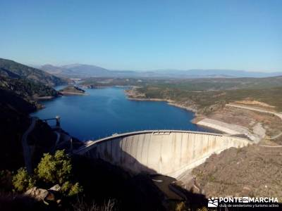 Presa del Atazar - Atazar - Meandros Río Lozoya - Pontón de la Oliva - Senda del Genaro;senderismo